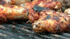 BBQ Chicken Stock Footage