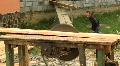 Board sawmill HD Footage
