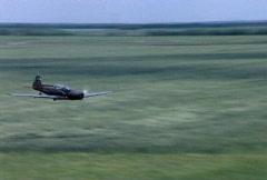 Acrobatic Airplane Flight Stock Footage