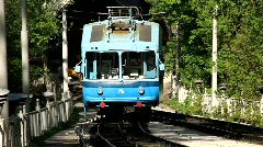 Funicular railway Stock Footage