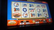 Slot Machine Jackpot Win Stock Footage