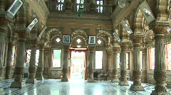 Shinde Chatri temple, Pune, India Stock Footage