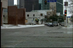 W day Dallas TX 93 38 Stock Footage