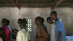 Malawi: worship in a church 3 Stock Footage
