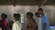 Stock Video Footage of Malawi: worship in a church 3