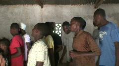Malawi: worship in a church 4 Stock Footage