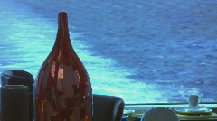 cruise ship dining - stock footage