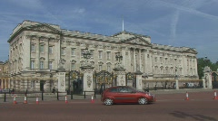 Buckingham Palace London. - stock footage