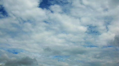 Time Lapse of clouds. Stock Footage