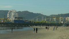 Santa Monica Pier 2 - stock footage