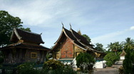 Stock Video Footage of wat xieng