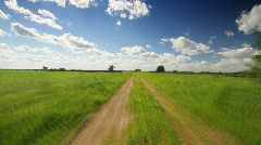 road meadow - stock footage