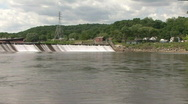 Stock Video Footage of Housatonic Dam