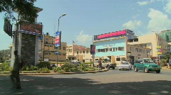 Arusha, Tanzania is one of Africa's fastest growing cities. Stock Footage