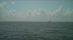 Sailboat1 Stock Footage