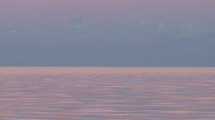Serenity - Tranquil Seaside Dusk Background Stock Footage