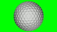Db golfball 05 hd1080 Stock Footage