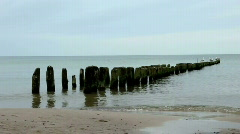 Breakwaters Stock Footage