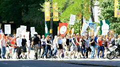 Gay Pride Parade Salt Lake City Utah Stock Footage