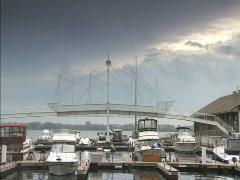 Toronto Harbourfront Stock Footage