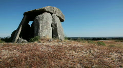 5000 years old dolmen Stock Footage