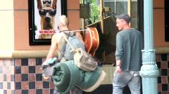 Street Junkies Stock Footage