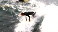 Stock Video Footage of California Surfer 1