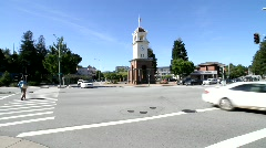 Downtown Santa Cruz Stock Footage