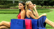 Shopping Relaxation 60 FPS Stock Footage