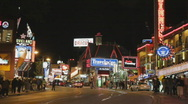 Stock Video Footage of Clifton Hill. Niagara Falls, Canada.