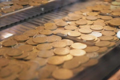 Coin game. SD. Stock Footage