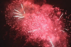 Fireworks! with sound. SD. Stock Footage