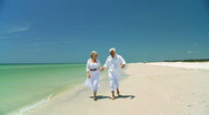 Seniors Carefree Lifestyle 60FPS Stock Footage