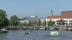 Summer in Amsterdam, the Netherlands Stock Footage