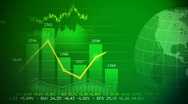 Stock Video Footage of Global stock market