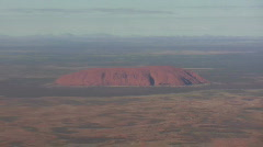 AustraliaOutbackAerialView2 Stock Footage