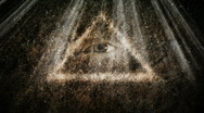 All seeing  eye Stock Footage