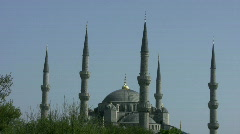 Blue Mosque   Full HD 1080p Stock Footage