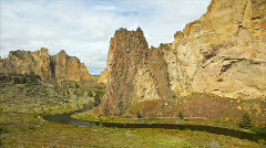 Smith Rock Time Lapse Stock Footage