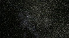 The flight through stars and Milky Way, HD - stock footage