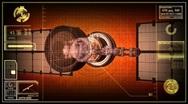 Military spy satellite. Stock Footage