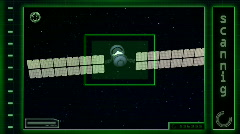 Scanning telecommunication satellite - stock footage