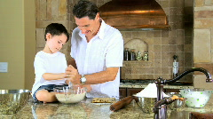 Family Cooking Time Stock Footage