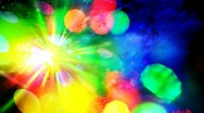 Abstract disco lights. Stock Footage