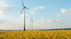 Alternative Energy Mix - stock footage