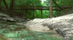 Lime Sink Run Suwannee River Stock Footage