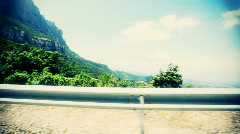 Monserrat drive01 Stock Footage