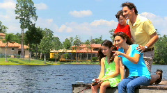 Family Time Together - stock footage