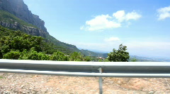 Monserrat drive00 Stock Footage