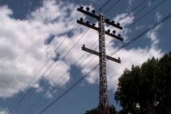 Power Line  - stock footage